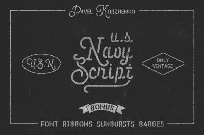 U.S.Navy Script • Freebies •