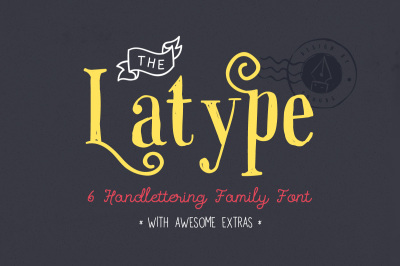 Latype Font Family - 70% off