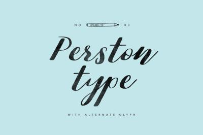 Perston type