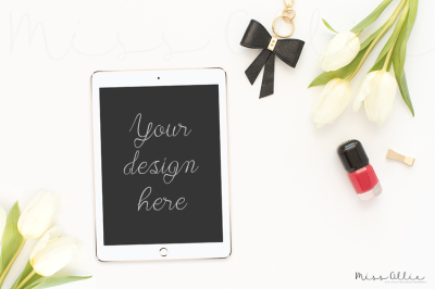 Tablet styled stock photography
