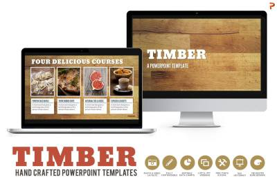Timber Powerpoint Templates