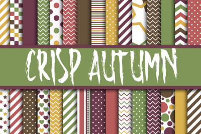 Crisp Autumn Digital Papers