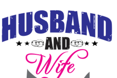 Husband and Wife Tshirt Design SVG, DXF, EPS File