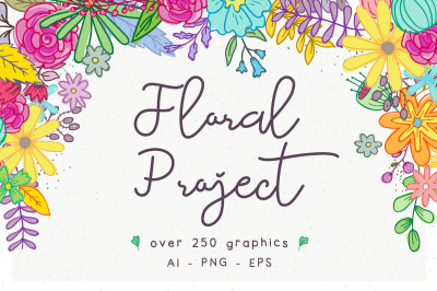 Floral Project + Extended License