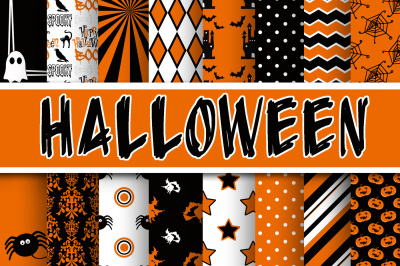 Halloween Digital Papers