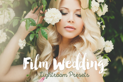 Film Wedding Lightroom Presets Collection
