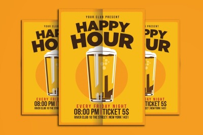 Happy Hour Beer Promo