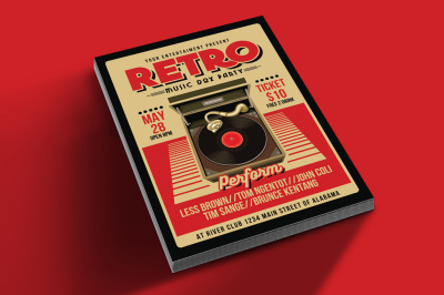 Retro Music Box Party
