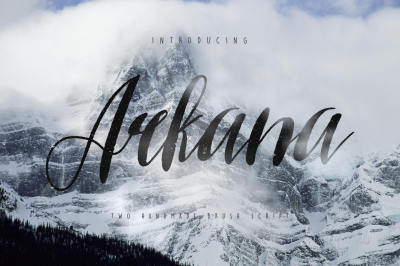 Arkana Rough Typeface