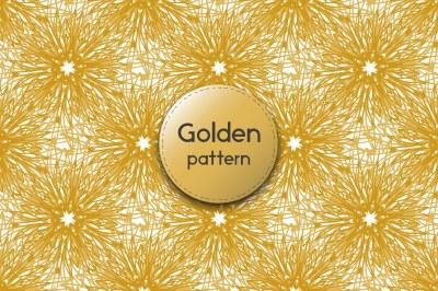 Vintage Golden pattern