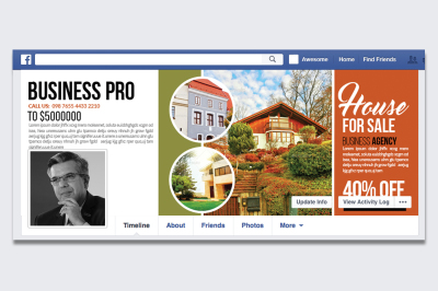 Real Estate Facebook Timeline Cover