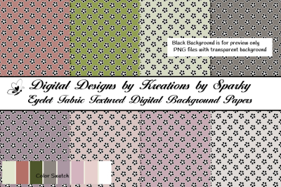 Eyelet Fabric Texture Digital Background Papers