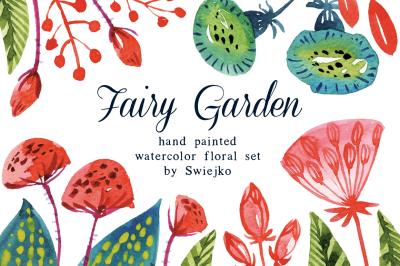 Fairy Garden floral set