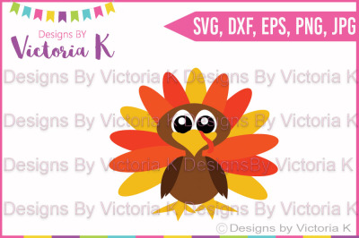 Turkey, Thanksgiving, Fall, Christmas, SVG, DXF, PNG, Files, Vinyl Cut Files