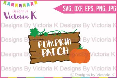 Pumpkin Patch, Halloween, Fall, SVG, DXF, Cut File