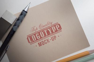 Logotype mock-up