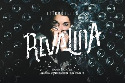 Revalina Typeface