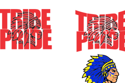 Tribe Pride Knockout SVG DXF PNG EPS File