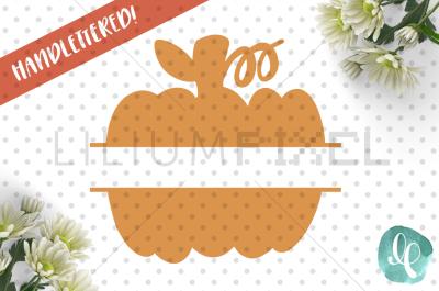 Split Pumpkin / SVG PNG JPEG DXF