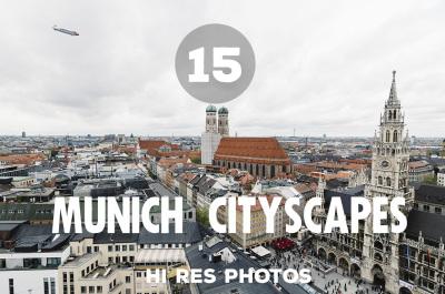15 Munich Cityscapes