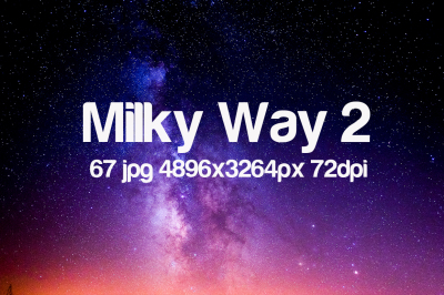 Milky Way photo pack