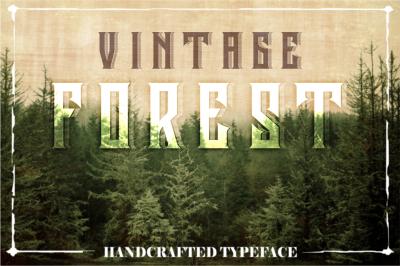 Vintage Forest Handcrafted