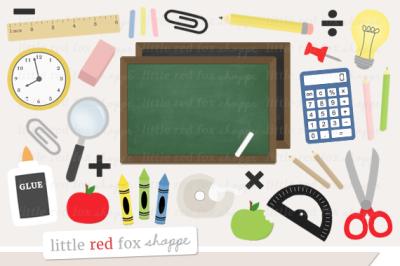 Classroom & School Clipart