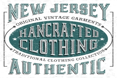 New Jersey - vector typography