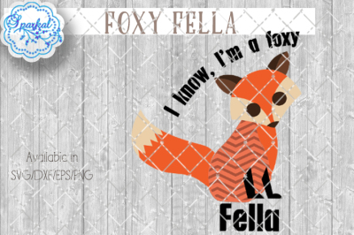 Foxy Fella - Cutting Design