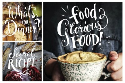 Food Photography Overlays - Set 1