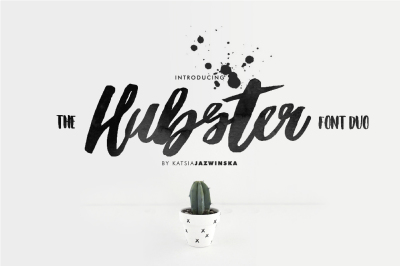 Hubster | Font Duo