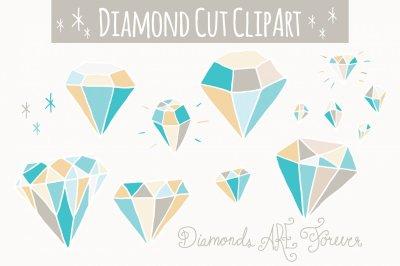Blue Diamonds Clip Art & Vectors