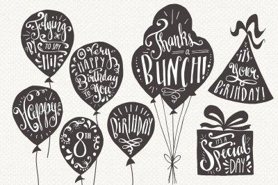 Birthday & Greeting Overlays