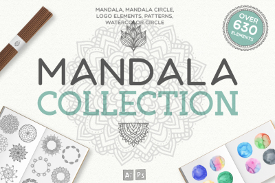 Mandala Collection [630 Elements]
