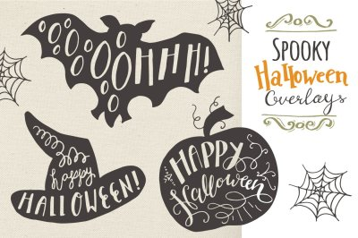 Halloween Overlays - Vector
