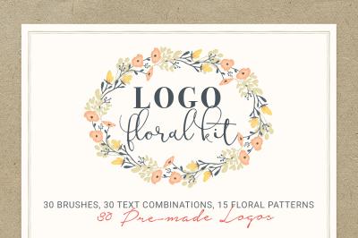 Logo Floral Kit