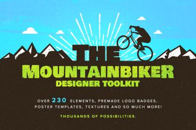 The Designer Mountain Bike Logos Kit