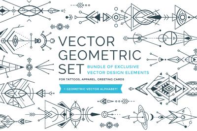 Vector Geometric Ornaments