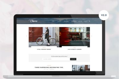 Cherro - A Theme for Bloggers