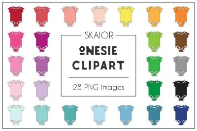 Rainbow Onesie Clipart