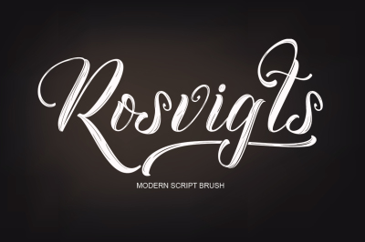 Rosvigts Brush Script
