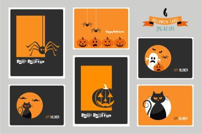 Halloween cards/Party invitations