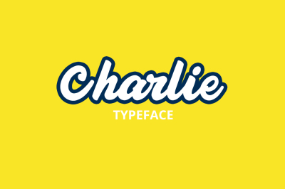 Charlie Typeface