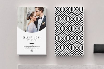 Moss Geometric Business Card Template