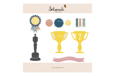 Awards Bundle - SVG and DXF Cut Files