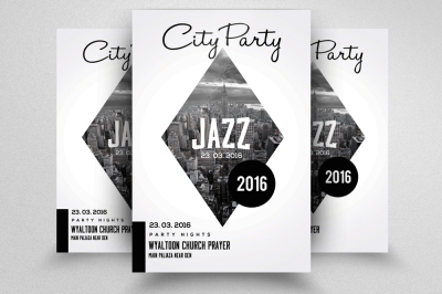 Jazz Flyer & Poster Template