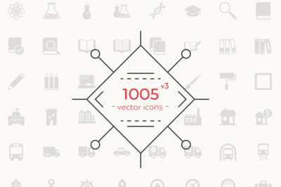 1005 Vector Icons Pack