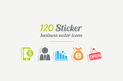 120 eCommerce Vector Icons