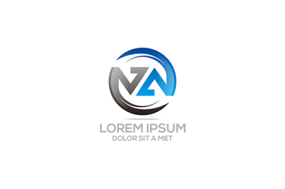 Circle letter logo