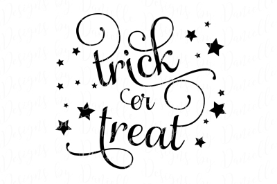 Trick or Treat SVG Cutting FIle